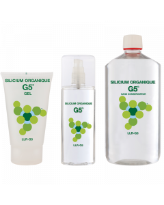Organic Silicon G5 Preservative Free 1L Starter Pack