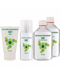 Organic Silicon G5 Preservative Free 500ml Starter Pack